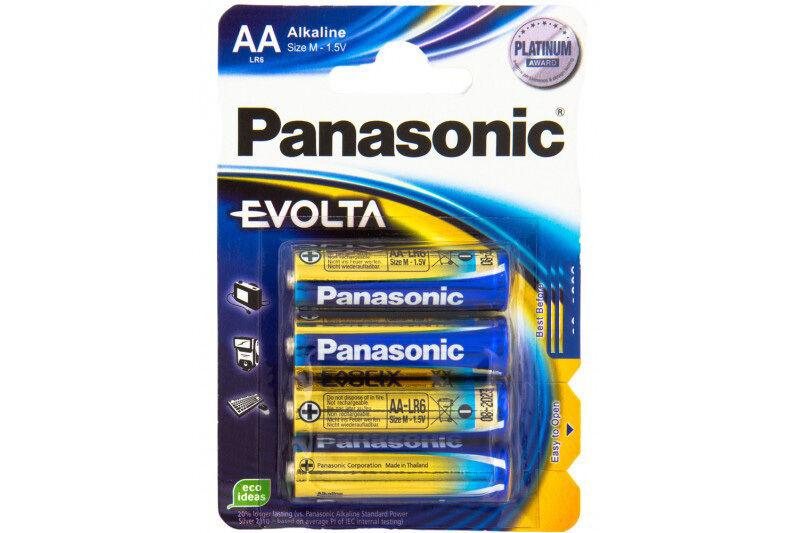 48 x Panasonic Platinium Award Evolta Alkaline Batterien 1,5V AA Mignon LR6 | Sehr gute Qualität