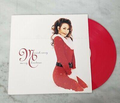 Mariah Carey - Merry Christmas Limited LP Red Vinyl Record Album EUC 888751271616 | eBay