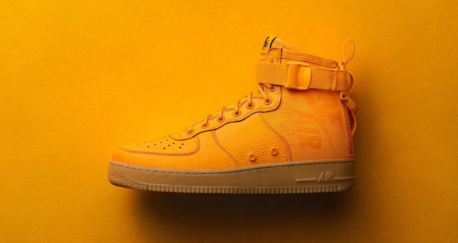 Nike sf air force 1 metà ob sneakeasy odell beckham jr ny giants arancione Uomo