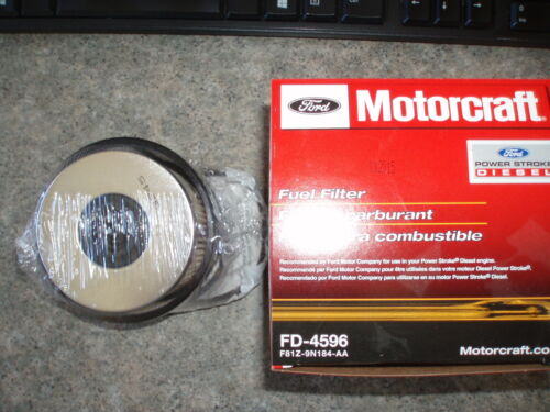 New Motorcraft FD4596 Fuel Filter 7.3L PowerStroke Diesel OEM ONLY