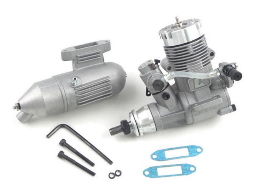 GX25 Engine With Muffler 2-Takt Nitro Motor for RC Models Kyosho 7422 Aircraft