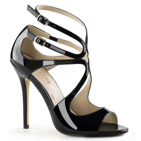 Pleaser 12.7cm Stiletto High 15 Heel Knöchelriemen Sandalen Schuhe AMUSE 15 High Größen 9b4146