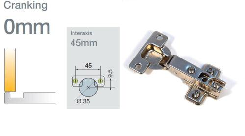 4 x Scharniere Topfband Eckanschlag 35 mm Küchenscharniere Schrankscharniere