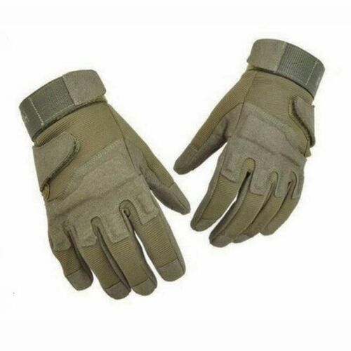 Outdoor Men/'s Army Gloves Man Full Finger Military Police Safety Hand Protector