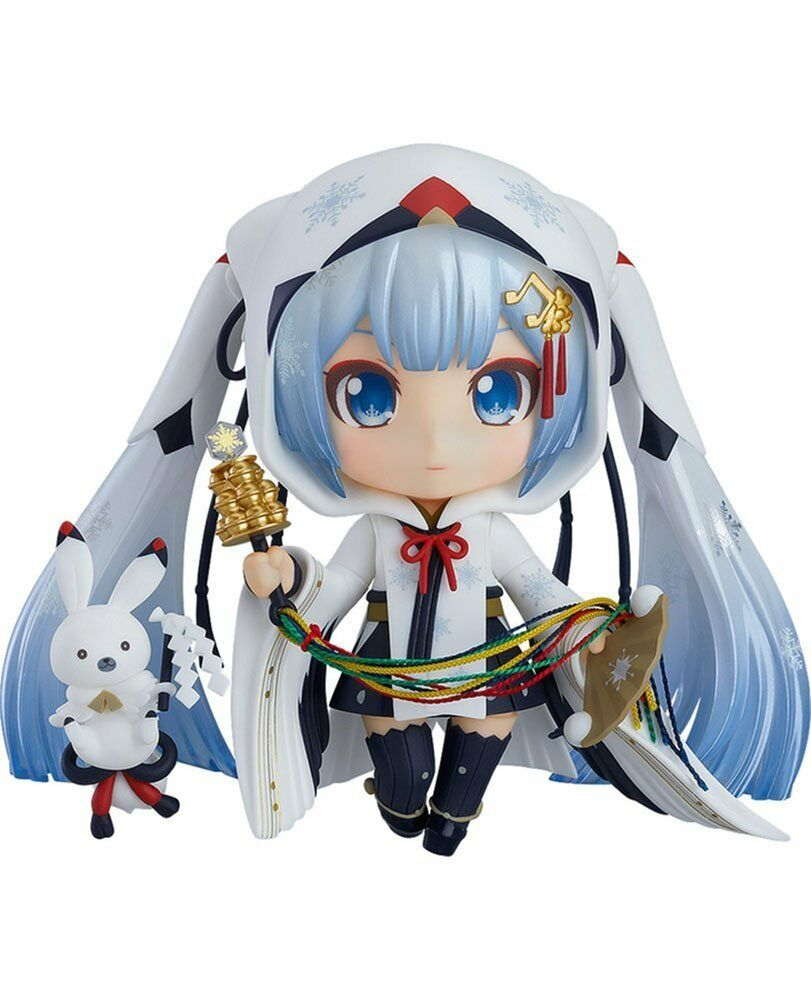 Good Smile Nendoroid Snow Yuki Miku Hatsune Shrine Maiden WF 2018 Action Figure