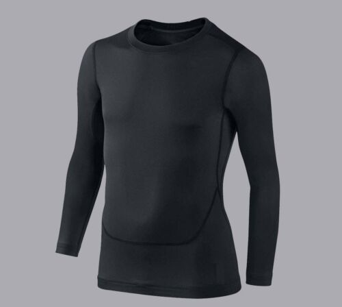 XS, XXL Compression Armour Baselayer Top Thermal Skins Shirt