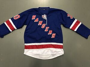 size 40 73b30 a41e4 Details about Ice Hockey Rangers Lundqvist jersey
