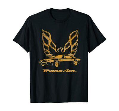 Retro Long Sleeved Trans Am T-SHIRT Firebird logo 70/'s 80/'s Pontiac muscle car