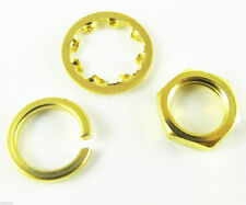 1 set Screw nut Three-piece a set for Standard SMA 1/4 - 36UNS-2B Gold Plated
