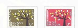 s20312-BELGIUM-MNH-1962-Europa-2v