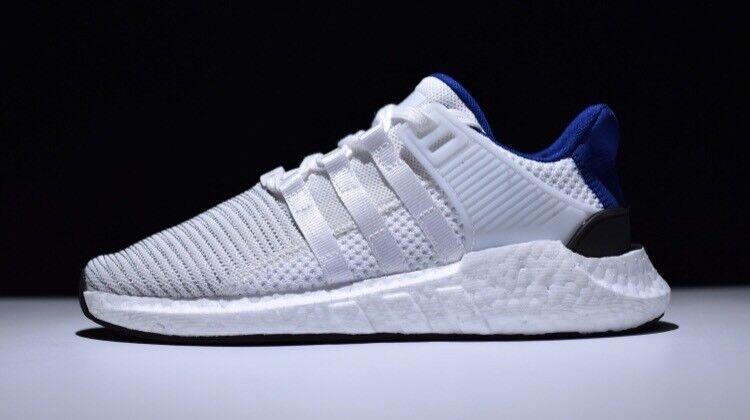 Adidas eqt unterstützung 93 / 17 weiße kern schwarz - blau bz0592 neue ds