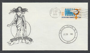 US-Pl-1571-C-FDC-1975-10c-Int-039-l-Women-039-s-Year-Gothic-Covers-FIRST-CACHET