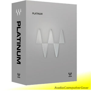 Waves-PLATINUM-Bundle-Audio-Software-Effects-Plug-in-NEW