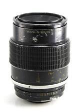 Nikon Nikkor 105mm F4 Micro Lens