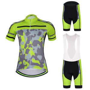 Men/'s Cycling Jersey /& Shorts Cycling Set Bike Clothes Team Cycling Short Kit