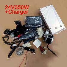 Super 24V 350W Electric E-Bike Conversion Kit+Charger Cycling Accessories H215