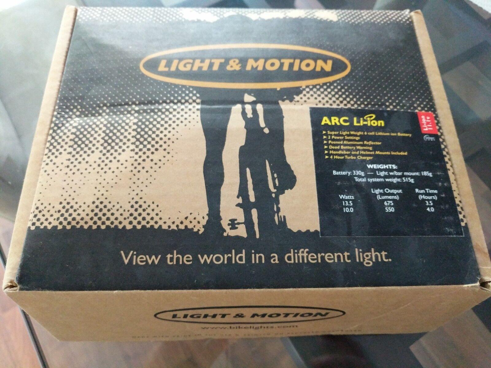 Light Li-Ion and Motion ARC Li-Ion Light Lithium Bike Light a110f0