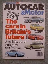 Autocar (2 Jan 1991) MX5 Turbo v Elan, Rover 825td Fastback, Ford Scorpio,Activa
