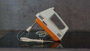 """Vintage    Batteur électrique  """"MOULINEX""""     Orange"""