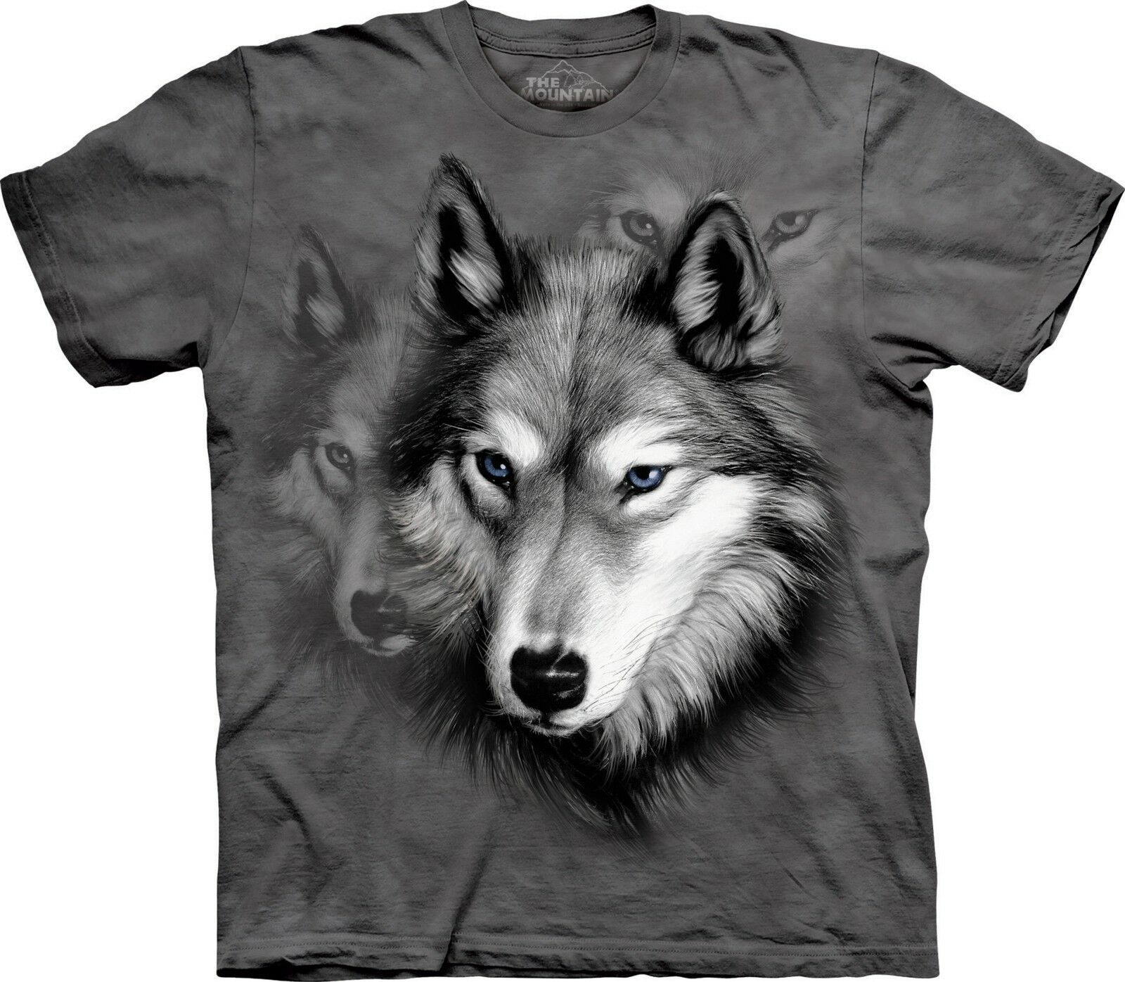 Wolf Portrait Animal T Shirt Adult Unisex The Mountain