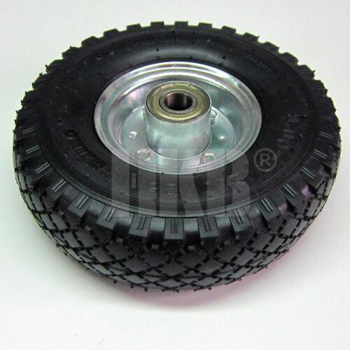 20003 Gummi Schwarz kugelgelagert 1 X Sackkarrenrad mit Schlauch 3.00-4