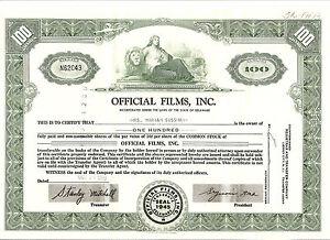 Official Films, Inc. grün - Deutschland - Official Films, Inc. grün - Deutschland