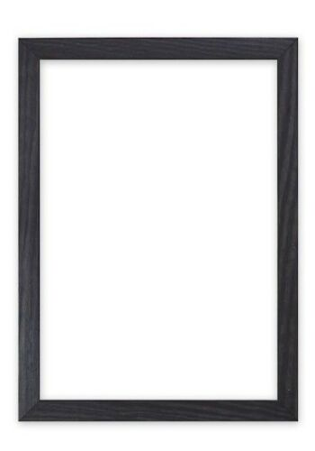 Flat Wood Frame Confetti  Range Photo,Picture Frames Choice Of Colours Black,Red