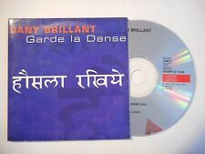 DANY BRILLANT : GARDE LA DANSE ♦ CD SINGLE PORT GRATUIT ♦