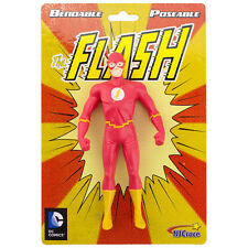THE FLASH New Frontier Bendable Posable Super Hero DC Comics toy Action figure