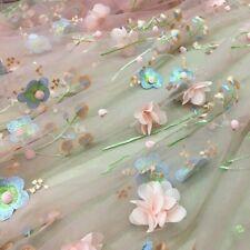 Netz Tüll Stoff Glitzer Gepunktet Voile Durchsichtig Hochzeit Kleid Rock