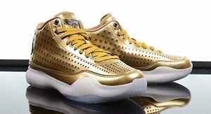 8702b079f77c NIKE KOBE X 10 MID EXT LIQUID GOLD Metallic Sneaker Shoes 802366-700 ...