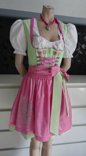 Dirndl Authentic German Austrian Dress Apron Blous
