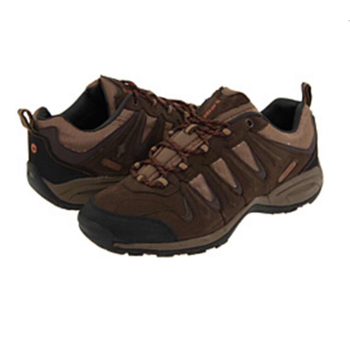 NEW Uomo Hi-Tec Trail Dust Nubuck leather Shoes Dark Chocolate 9