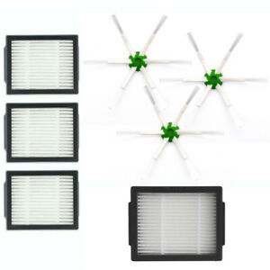 Filter+Brush Set For IRobot Roomba E Series I Series E5 Replace Sweeper Parts