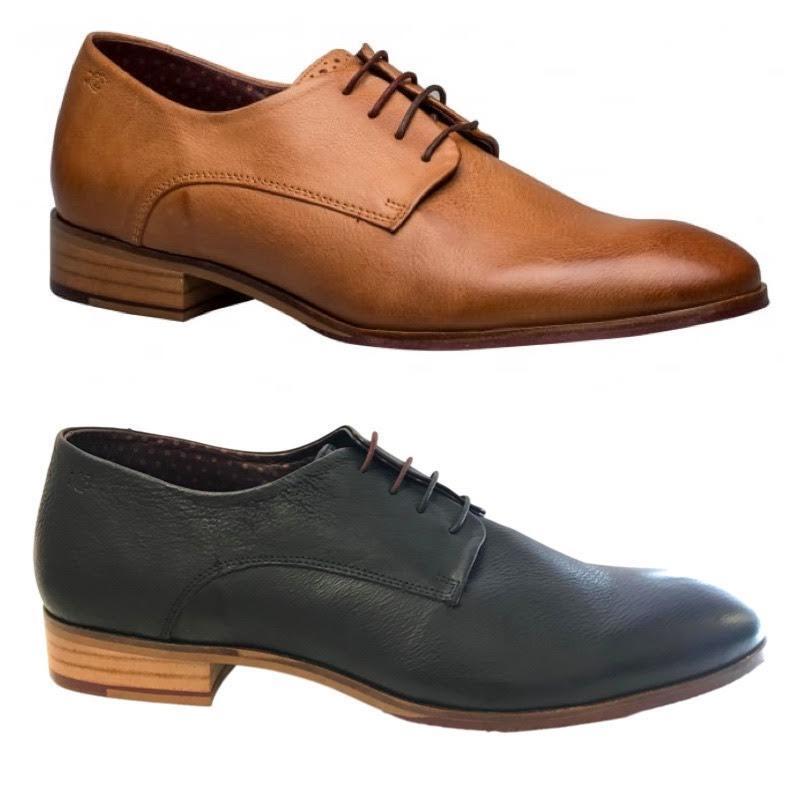 London Cuero Calado Wister Derby Inteligente Formal Zapatos Informales Con Cordones De Cuero Hombre brogu