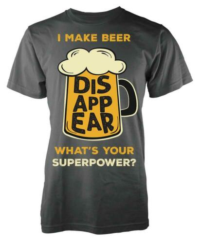 I Make Beer Disappear What/'s Your Superpower Adult T Shirt