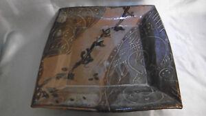 plateau plat ceramique la borne signé horst jensen. wiRB9sPa-09165716-795259880