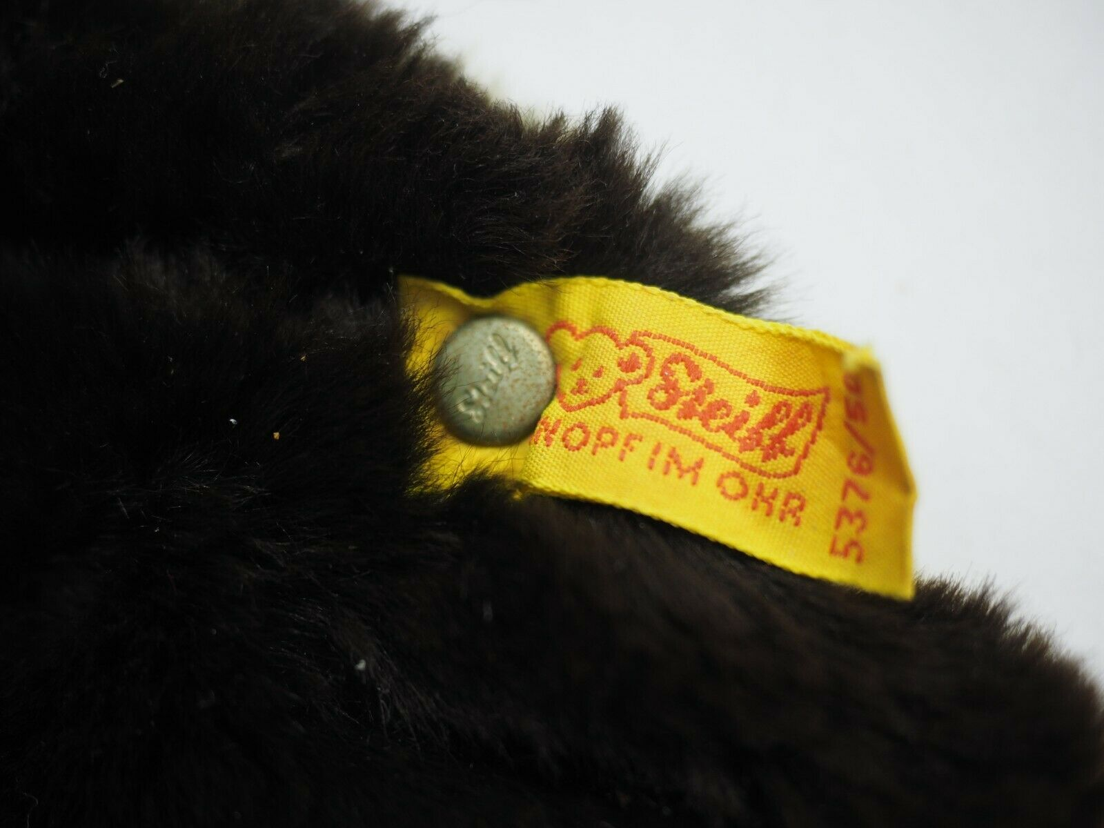 Steiff Large German made Cosi Movi Seal with with with tag and Button 5376 50 661728