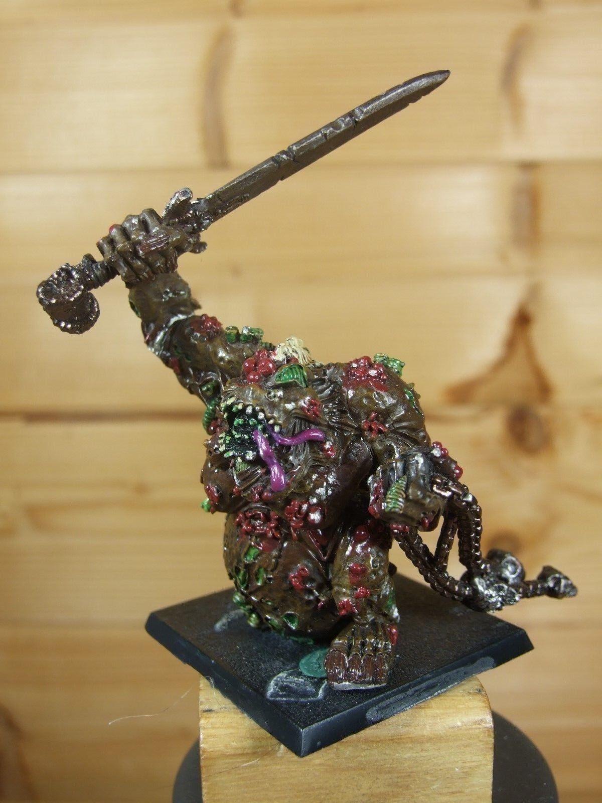 Classic Metal Caos de Warhammer de mayor demonio gran sucias Pintado uno (L)