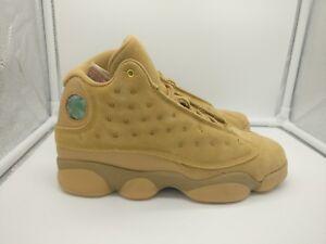 394803b9cc8 Nike Air Jordan 13 Retro BG UK 4.5 Element Gold Baroque Brown 414574 ...