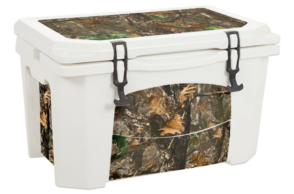 USATuff Custom Cooler 75qt Wrap Decal fits Grizzly 75qt Cooler L+I Woodland Camo 7e2a02