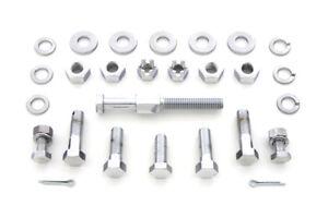 Transmission-Mount-Kit-Chrome-For-Harley-Davidson