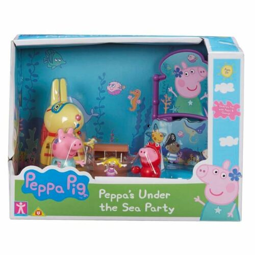 Peppa Themed Playset-Pig Peppa/'S PARTY Under The Sea