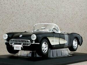 CHEVROLET Corvette - 1957 - black - Maisto 1:18