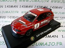 voiture 1/43 ALFA ROMEO : 147 GTA CUP 2003