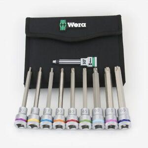 """Wera 004591 Lug Nut 1//2/"""" Impact Socket with Plastic Sleeve 19mm"""