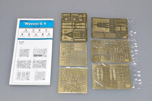 Trumpeter - Westland Wyvern S.Mk 4 S.4 Etched Parts Detailset Set - 1:48 New Ob