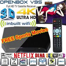 GENUINE OPENBOX V9S HD Freesat Smart TV Satellite Receiver Box For Skybox F5S UK