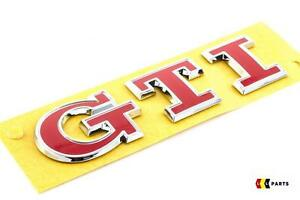 VOLKSWAGEN-VW-GOLF-MK7-NEW-GENUINE-RED-GTI-LETTERING-BADGE-EMBLEM-5G0853675ACJZQ