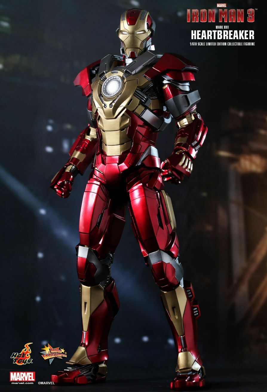HOT TOYS TOYS TOYS - IRON MAN 3 HEARTBREAKER (MARK XVII) 1 6TH SCALE LIMITED EDITION bfe0f1